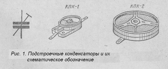 Подстроечный конденсатор