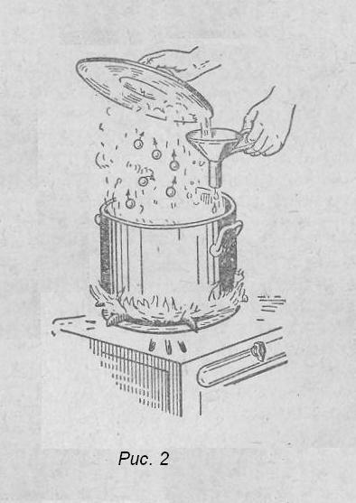 Кипящая кастрюля
